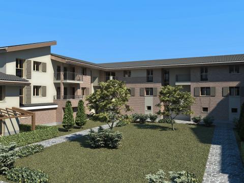 Progetto edificio residenziale in Siziano