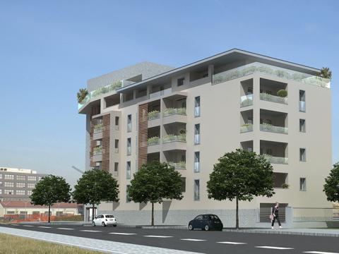 Nuovo edificio residenziale in Milano (1)