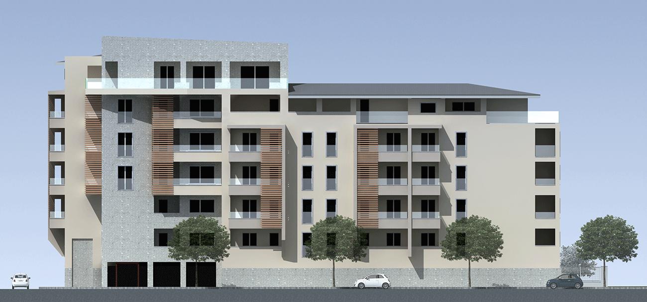 Nuovo edificio residenziale realizzazione appartamenti for Piani di costruzione di edifici residenziali in metallo