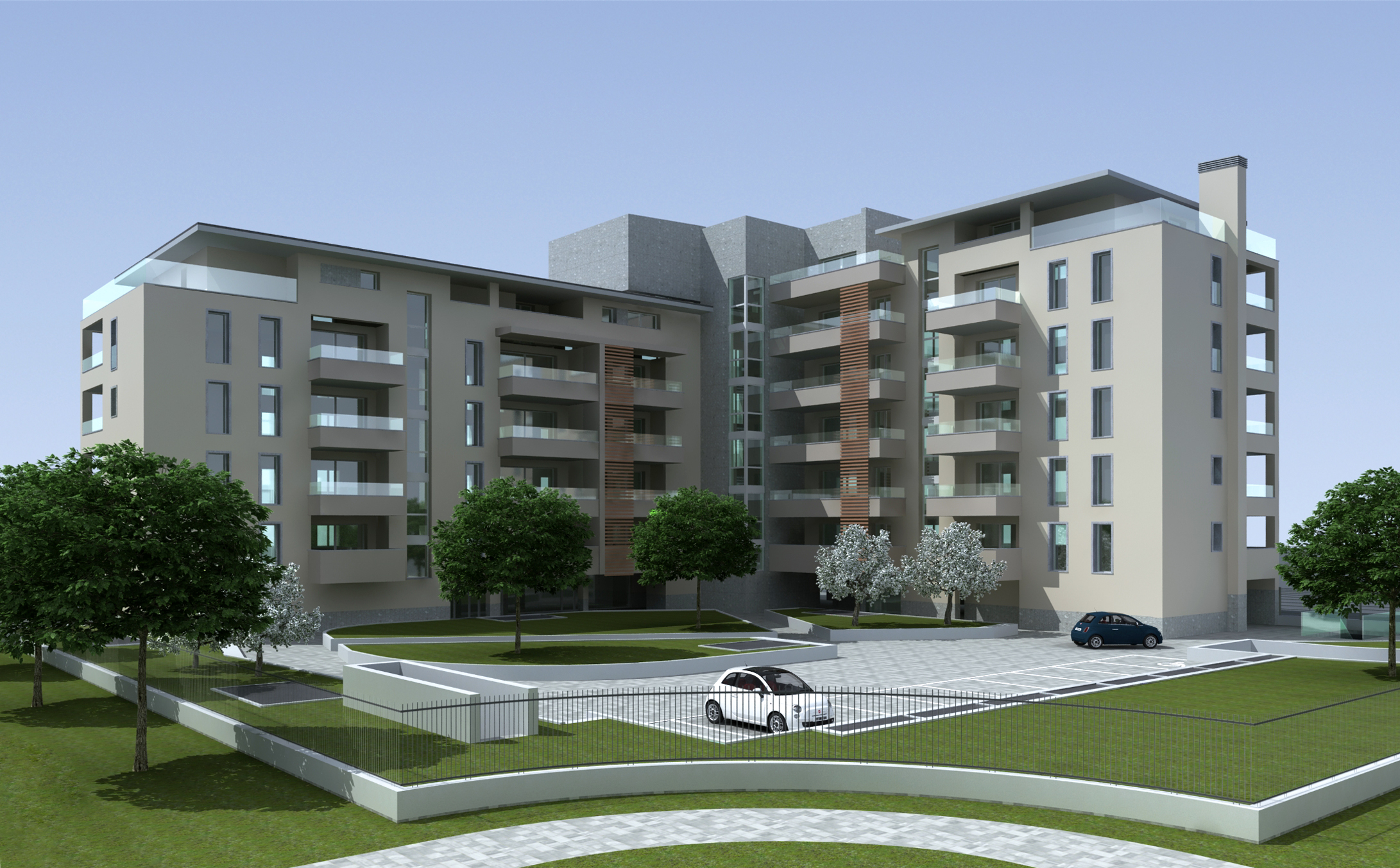 nuovo edificio residenziale realizzazione appartamenti